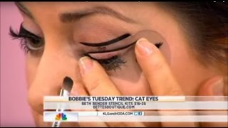 getlinkyoutube.com-Beth Bender Beauty Eyeliner Stencils on NBC's TODAY Show with Bobbie Thomas | Beth Bender Beauty