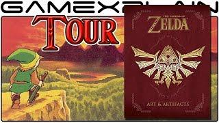 getlinkyoutube.com-The Legend of Zelda: Arts & Artifacts Book Overview & Tour