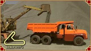 getlinkyoutube.com-Tatra 138 cable excavator