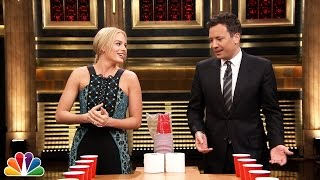 getlinkyoutube.com-Flip Cup with Margot Robbie