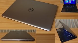 """getlinkyoutube.com-Dell Inspiron 7548 15"""" 7000 serie - Notebook unboxing and first boot Windows 8 Pro"""