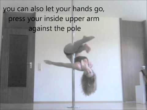 Pole Dance Tutorial: Pike Hip Hold