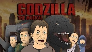 getlinkyoutube.com-♪ GODZILLA THE MUSICAL - Cartoon Parody Song
