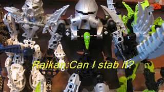 getlinkyoutube.com-Bionicle vs Hero Factory Part 1: Furno's arrival