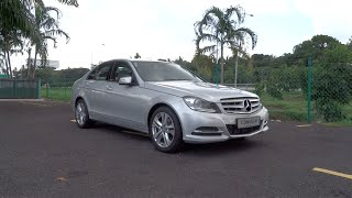 getlinkyoutube.com-2014 Mercedes-Benz C200 CGI Avantgarde Start-Up and Full Vehicle Tour