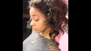 getlinkyoutube.com-ARDOLLS| Natural Looking Lace Frontal.  NO GLUE  NOT SEWN DOWN