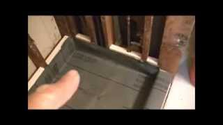 getlinkyoutube.com-How To Install Showerpan Liner & Mortar