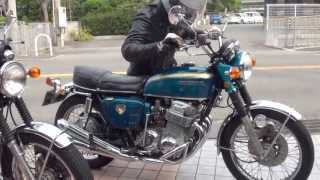 getlinkyoutube.com-1769 CB750K0 DREAM CB750FOUR 砂型 ホンダ・ドリームCB750FOUR