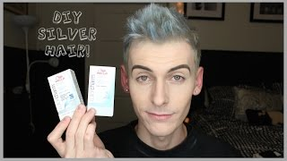 getlinkyoutube.com-How to Dye Your Hair Silver With Toner DIY