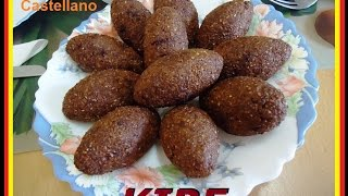 Kibe - receta árabe
