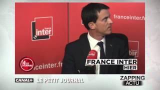 getlinkyoutube.com-La (très) étrange attitude de Manuel Valls sur France Inter
