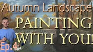 getlinkyoutube.com-Painting With You - Autumn   Ep.4   Waterfall   Watch, Vote, Create