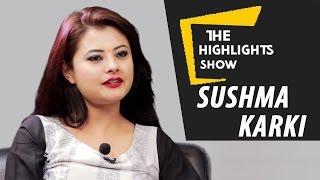 getlinkyoutube.com-Nepali Actress Sushma Karki at The Highlights Show | Episode 6