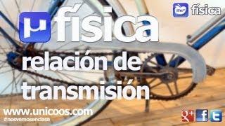 Imagen en miniatura para FISICA Relación de transmisión de dos poleas simples - MCUV