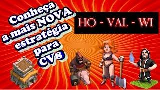 getlinkyoutube.com-Nova estratégia de ataque 100% em CV8 'HOVALWI' Corredor Valquiria e Magos