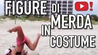 getlinkyoutube.com-FIGURE DI MERDA in costume da bagno - VIDEOPAZZESCHI Tv