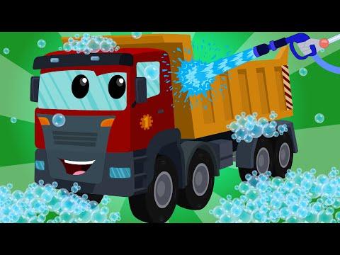 Dump Truck | Car Wash | Video For Kids