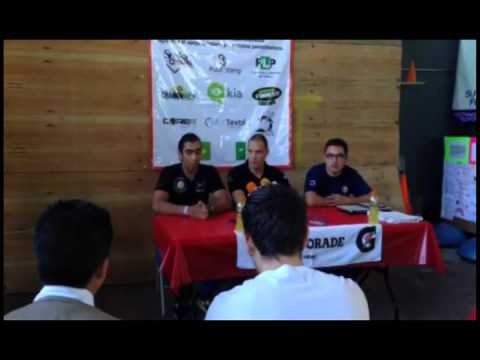 CONFERENCIA DE PRENSA 2DO TORNEO MAREMOTO