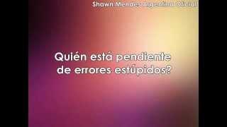 Shawn Mendes - Believe (traducida al español) (descendientes)