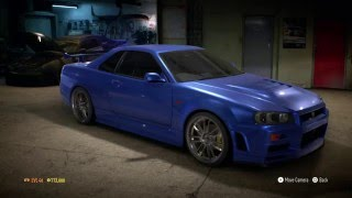 getlinkyoutube.com-Need for Speed 2015 : Fast & Furious - Nissan Skyline R34 GT-R