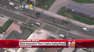 getlinkyoutube.com-Grand Theft Auto GTA - In real life - Carjacker in Police Pursuit