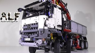 getlinkyoutube.com-Lego Technic 42043 Mercedes Benz Arocs 3245 - Lego Speed Build Review