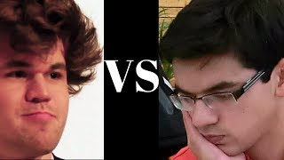 getlinkyoutube.com-Gruenfeld Defence: Magnus Carlsen vs Anish Giri - Gruenfeld (D71) - Blown away tactically!