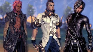getlinkyoutube.com-【Blade & Soul】 Aetheria's Male Jin & Gon Profiles