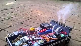 getlinkyoutube.com-tiger tank with benedini smoke and sound