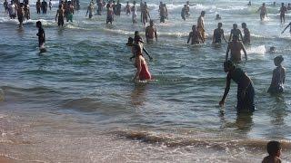 Calangute Beach - The Most Popuplar Beach Of Goa, India Tourism Video