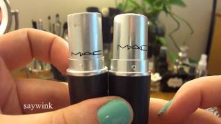 getlinkyoutube.com-Fake MAC: Counterfeit Lipstick vs the Real Thing