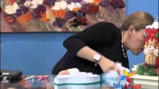 getlinkyoutube.com-Teleamiga Aprenda y venda Patchwork sin aguja y globoflexia