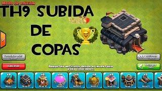 getlinkyoutube.com-Ayuntamiento 9 Subida de copas | DISEÑO DE ALDEAS #1| Jugando Clash of Clans