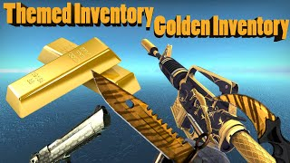 getlinkyoutube.com-CS GO - Golden Inventory (Themed Inventory) + Prices