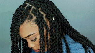 getlinkyoutube.com-HOW TO: CHUNKY SENEGALESE TWIST