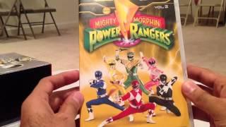 getlinkyoutube.com-Power Rangers Seasons 1-3 DVD Set