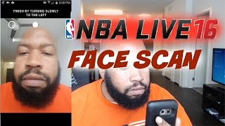 getlinkyoutube.com-NBA Live 16 Face Scan Vs  NBA 2K Face Scan - Which One Is Better?