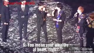 [ENGSUB] SS7 Heechul said Donghae as his son & He always think of Elf when use money