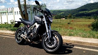 getlinkyoutube.com-Fx3 MT09 - Detalhes da moto, consumo de combustível e mais.