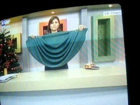 Cómo hacer una cenefa drapeada - Imagui