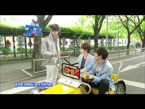 [HD] 120603 EXO-K - Traffic Road Safety Song!!!