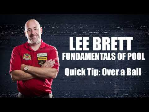 APA - Lee Brett Instructional Series - Quick Tip - How to Shoot Over A Ball