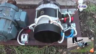 getlinkyoutube.com-Мотор-генератор (РОТОВЁРТЕР) сделано в Киеве Май 2014