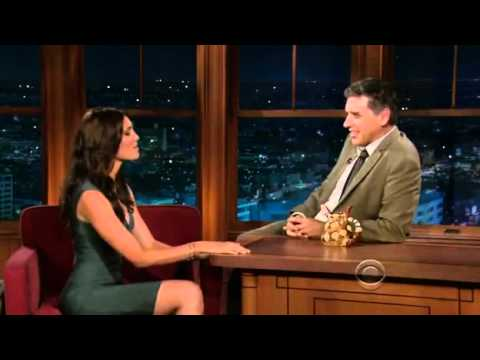 Daniela Ruah @ The Late Late Show with Craig Ferguson