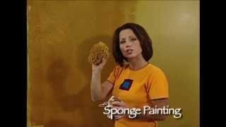 getlinkyoutube.com-How-To Faux Finish Step Instruction - Sponge Painting with Sea Sponge by The Woolie #FauxPainting