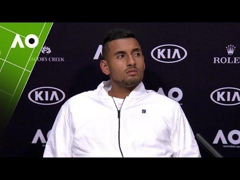 Nick Kyrgios press conference (2R) | Australian Open 2017