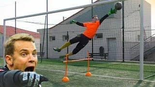 getlinkyoutube.com-Best Goalkeeper Training 2016 - Developp your technique like Neuer or Navas