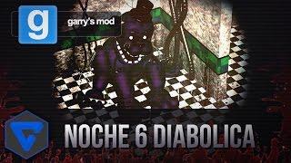 getlinkyoutube.com-NOCHE 6 DIABOLICA EN LA PIZZERIA! - PURPLE FREDDY ESTA LOCO!  FIVE NIGHTS AT FREDDY'S GMOD