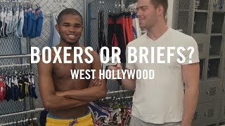 getlinkyoutube.com-West Hollywood Answers Boxers or Briefs with DanielXMiller | 2016 Los Angeles