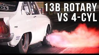 Turbo Compacts - 13B Rotary vs 4-cylinder